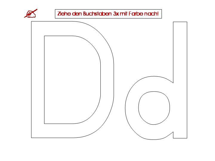 Beste Arbeitsblatt Buchstaben D Ideen - Mathe Arbeitsblatt ...