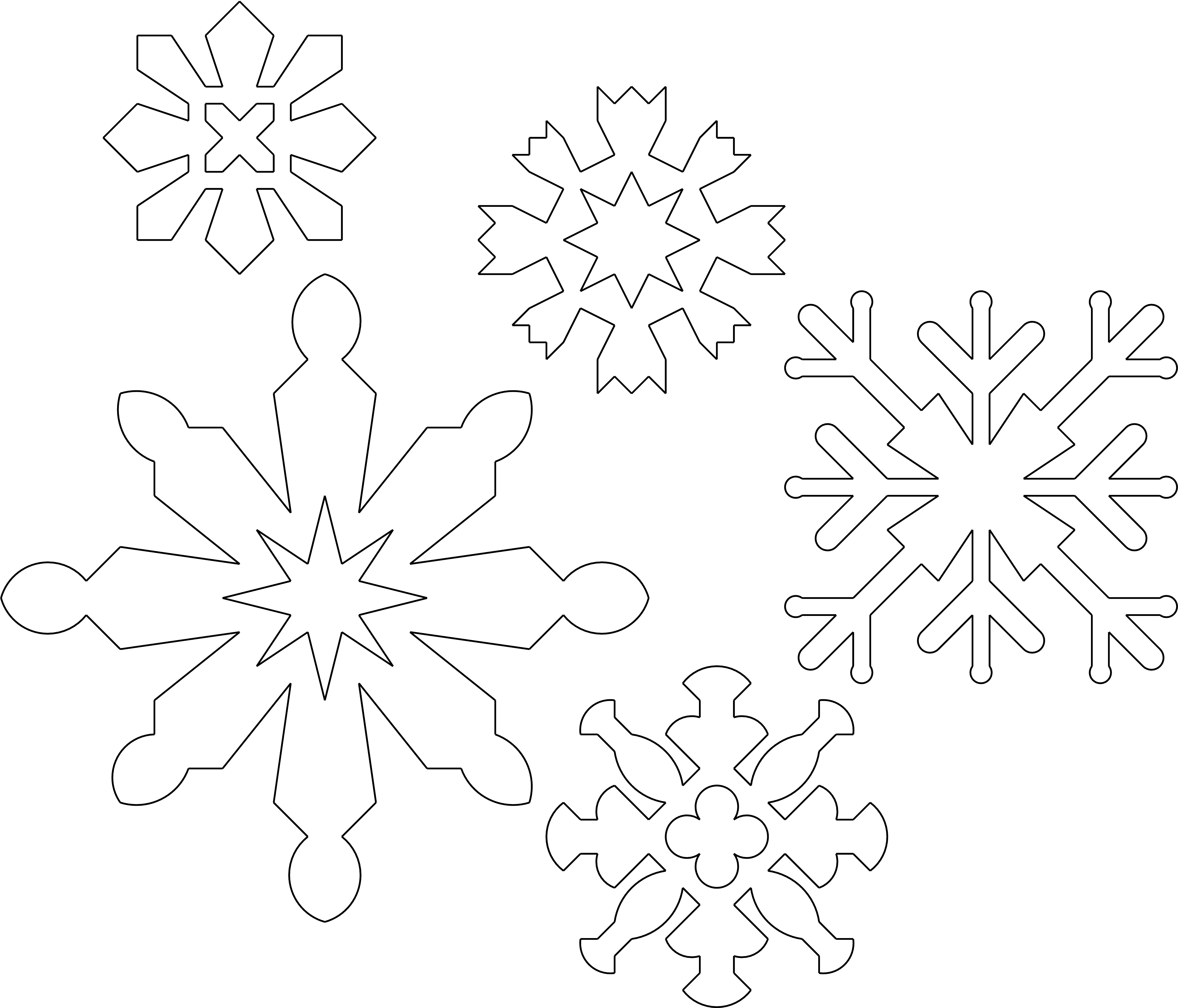 Schneeflocken aus Papier schneiden  YouTube